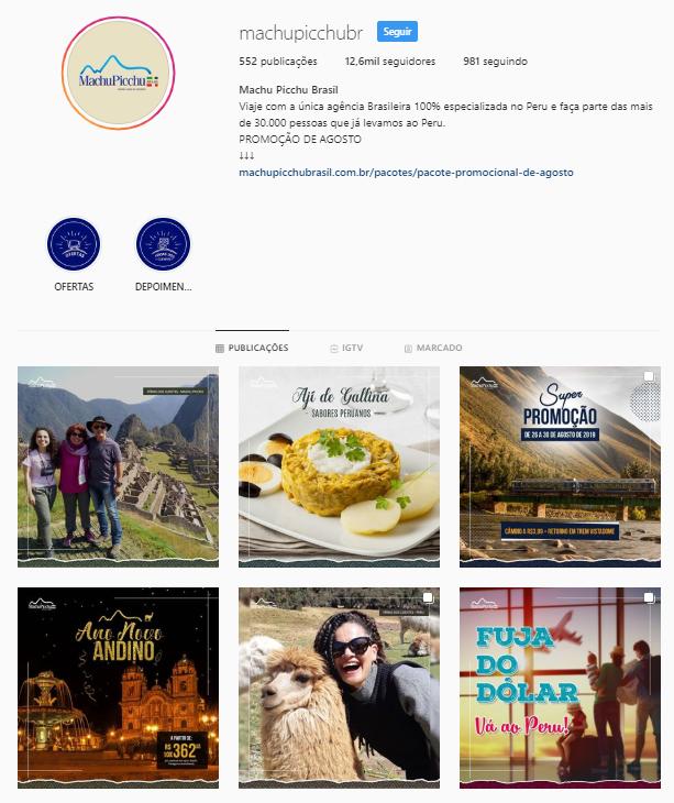 Marketing para agência de turismo