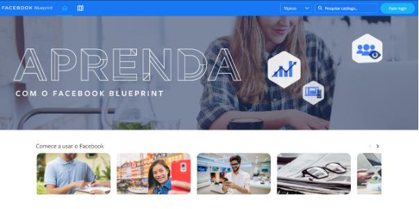 Aprenda com Facebook Blueprint