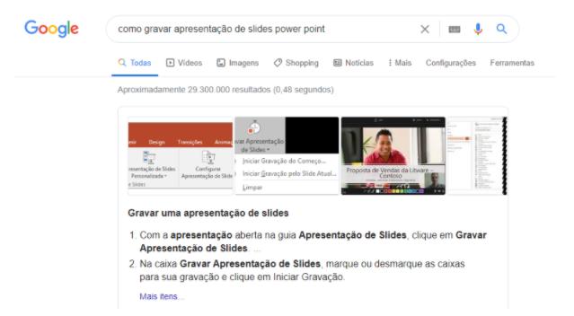 Como gravar apresentações de slides no power point