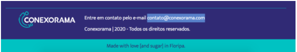 Não é recomendável ter o email aberto no site de inbound