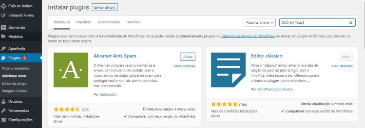 Como instalar um plugin no WordPress