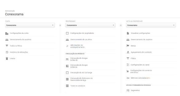 Metas Google Analytics