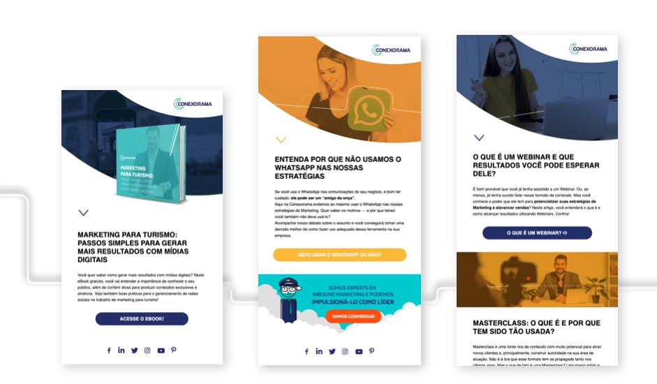 Modelos de e-mail Marketing