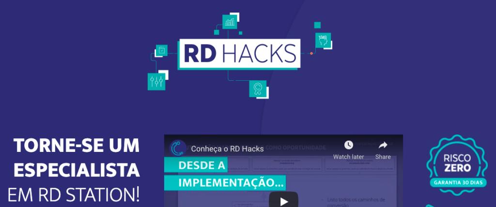 Banner do curso RD Hacks