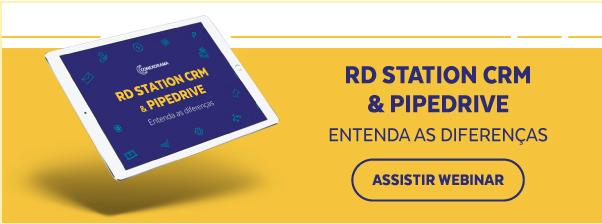RD STATION CRM & PIPEDRIVE ENTENDA A DIFERENÇA